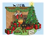 Manchester Terrier Christmas