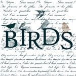 Birds with Script