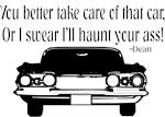 Take care of that car