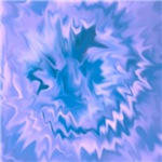 abstract painted flower-one design more colors