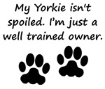 Well Trained Yorkie Owner