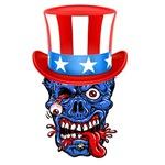 American Zombie Uncle Sambie