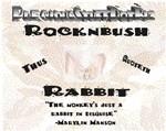 Thus Quotetheth Rocknbush
