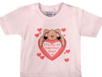 Baby's First Valentine's Day T-shirts