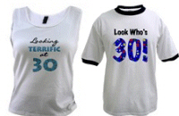 30th Birthday T-shirts, Mugs, Gifts