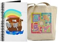 Baby Tote Bags and Journals!