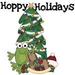 Hoppy Holidays T-shirts and Gifts