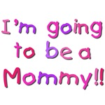 Pink Going to be a Mommy Tshirts and Gifts
