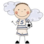 Boy Soccer Player T-shirts and Gifts