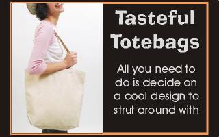 Terrific Poodle Tote Bags