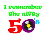 I remember the nifty 50's T-shirts and gifts.