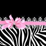 Zebra (Pink)
