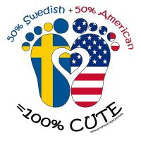 Swedish American Baby