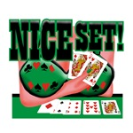 Nice Set! Poker Queen