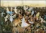 Fairy Twilight, Vintage Art
