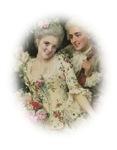 Portrait Of Rococo Colonial Couple