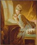 Rococo Lady Reading