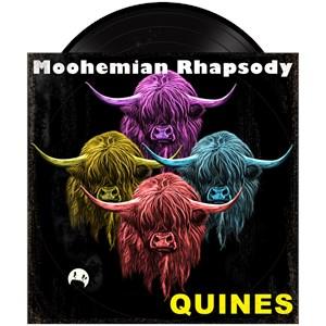 Scottish Highland Cow Moohemian Rhapsody