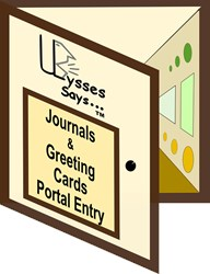 Ulysses Says Journal/Greeting Card Product Portal