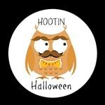 Hootin Owl Orange Black