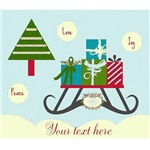 Personalize it! Sleigh Ride -sky