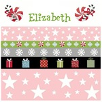 Personalize it! Holiday Stars Gifts-pink
