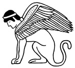 Ptolemaic Winged Sphynx