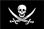Calico Jack's Pirate Flag