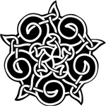 Celtic Knotwork Pentagram
