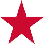 Five Pointed Red Star