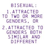 Bisexuality is