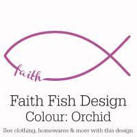 Orchid Faith Fish Design