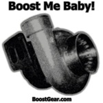 Boost Me Baby! Gray Outline