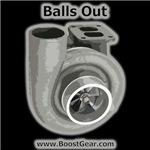 Mens - Balls Out Turbo Shirts by BoostGear.com
