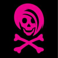 Pink Li'l Spice Girlie Skull