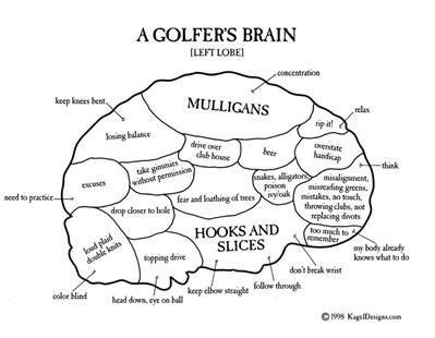 A Golfer's Brain