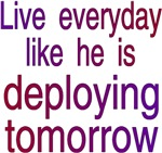 Live everyday like He deploys tomorrow