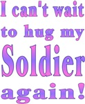 Can't wait to hug my Soldier again!