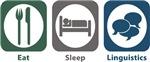 Eat, Sleep, Linguistics