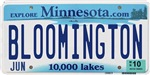 Bloomington License Plate Shop