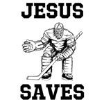 Jesus Saves - Hockey 1