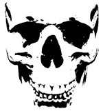 The Wicked Skull T-shirt, Apparel, Gifts Designs