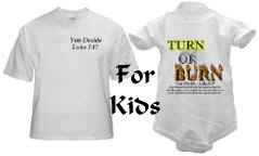 """""""Turn or Burn"""" for kids"""