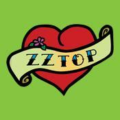 ZZ Top Heart Tattoo