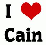 I Love Cain