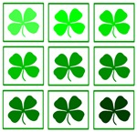 Saint Patrick's Day Shamrocks