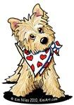 Cairn Terrier Valentine