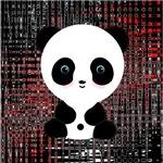 Red & Black Panda