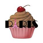Paris Cupcake