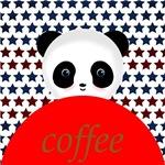 Coffee Panda Bear